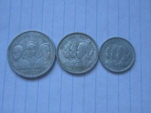 Lot of 3 pcs 10xu 20 xu & 50 Xu South Viet Nam Coins 1953 (See Photos) # B269