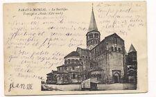paray-le-monial  la basilique transept et abside