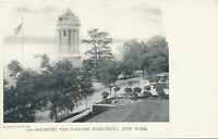 NEW YORK CITY – Soldiers and Sailors Monument – udb (pre 1908)