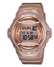 Casio Baby-G BG169G-4CR Whale Series Women's Pink Champagne Resin Digital Watch