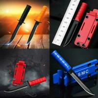 Portable Mini Necklace Blade Knife Camp Outdoor Survive Hike EDC Tool J4M2