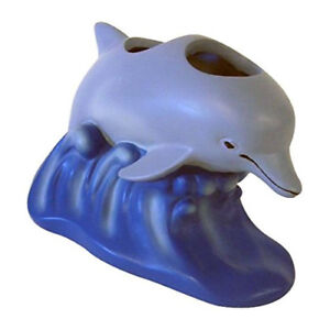 Saturday Knight Dolphin Sea Resin Toothbrush Holder Ocean Beach