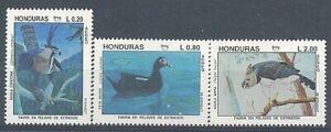*Honduras 1993 FAUNA Bird Eagle UPAEP Yv.A837/39 MNH