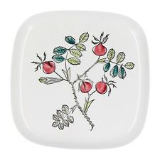 A Rorstrand Florina plate Rosehip design Swedish pottery