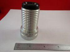 MICROSCOPE PART LENS I.E.C. PROJECTOR GERMANY 50mm F 1.6 OPTICS AS IS BN#K9-B-07