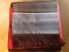 TOM FORD MENS $850.00 AUTHENTIC 100 % SILK BROWN SCARF NEW WITH TAG 75 INCH