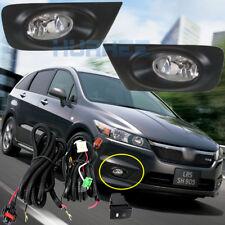 Car Bumpe Front Fog Lights For Honda Stream 2007  /1Set w/Bulbs + Switch + Frame