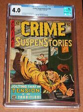 Crime SuspenStories 26 (12/54-1/55) E.C. Comics CGC 4.0