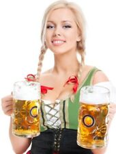 Sexy Oktoberfest Beer Girl Halloween Cosplay Costume Womens LG Gnome Renaissance