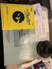 original The Shadow Set Bally pinball MACHINE manual