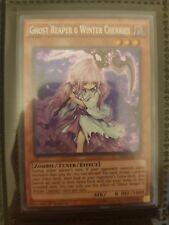 Yugioh Ghost Reaper and Winter Cherries SHVI-EN040 Secret Rare 1st Ed