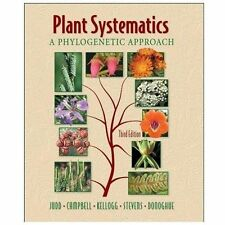 Plant Systematics: A Phylogenetic Approach, Third Edition by Walter S. JuddCh…