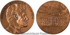 President William J. Clinton  Bronze Medal US MINT Velvet Case 2nd Term