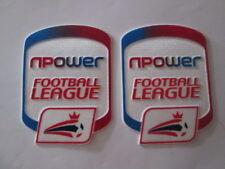 NPOWER FOOTBALL LEAGUE Camicia BRACCIO patch Player Size Sportive ID ufficiale