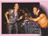 WWE WWF LITA SEXY AUTOGRAPHED HAND SIGNED 8X10 PHOTO WRESTLING PICTURE