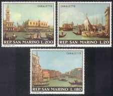 San Marino 1971 Save Venice/Buildings/Architecture/UNESCO/Paintings 3v (n38552)