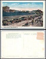 LOUISIANA Postcard - New Orleans, French Market K58