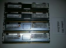 Lot of 4  QIMONDA NYS72T128420EFD 1GB DDR2 2RX8 PC2-5300F 667MHZ 240P SERVER RAM