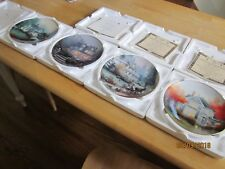 """Thomas Kinkade """"Home Is Where the Heart Is"""" Mint Set of 8. Make Offer!"""