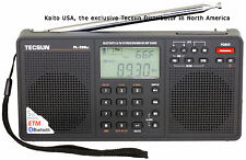 Tecsun PL398BT DSP Digital AM/FM Shortwave Radio with Dual Speakers & Bluetooth