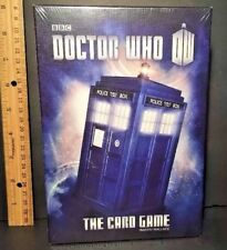 BBC DOCTOR WHO The Card GAME 2nd Edition by Martin Wallace NEW & SEALED BOX