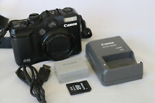 Canon PowerShot G10 14.7MP Digital Camera - TESTED Battery Charger Strap SD card