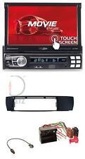 Caliber DAB USB Bluetooth MP3 SD Autoradio für BMW X3 (E83 2004-2010) seitlich