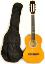 """34"""" Classical Acoustic Guitar 1/2 Size w/Free Bag Omega Class Kit 1/2 NA"""