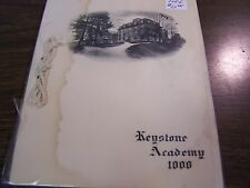 ANTIQUE - CLASS OF 1906 KEYSTONE ACADEMY COMMENCEMENT INVITATION FACTORYVILLE PA