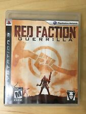 Red Faction: Guerrilla (Sony PlayStation 3, 2009) COMPLETE