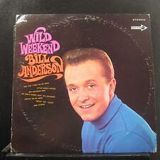 Bill Andersen - Wild Weekend LP VG+ DL 74998 Decca Stereo 1968 USA Vinyl Record