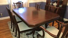 Watertown Slide Antique Dining Table, 6 Chairs, Plus Leaf Pick Up Only