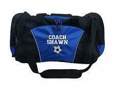 Personalized Duffel Bag Large SOCCER BALL Sports Team Mom Travel Coach Gift NEW