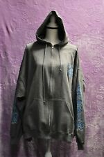 Laconia 2011 88th Anniversary Men's Gray Full Zip-Up Hoodie Size 4XL