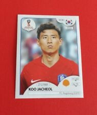 2018 Panini Soccer World Cup Koo Jacheol Sticker #500***South Korea***