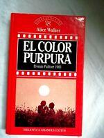 El Color Purpura Alice Warker Novelas de cine Colección Español1987