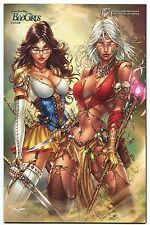 Grimm Fairy Tales Bad Girls #1 Comic Central Com Exclusive Variant Cover D