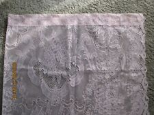 Vintage Collectibles Linens & Textiles One Panel Pink Lace Curtain New