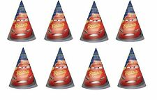 Disney Cars 3 - 8 Paper Birthday Hat Party Supplies Favors Party Hat