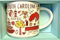 Starbucks Mug Been There Series Collectible South Carolina Color 2018 14 Oz New