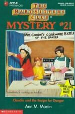 Claudia and the Recipe for Danger (Baby-Sitters Club Mysteries)