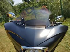 """AJ_Baggers NEW Aero Light Tinted Windshield 11"""" for Victory Cross Country"""
