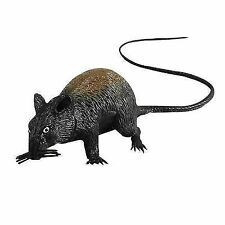 13cm Large Squeaking Rat Toy Joke Halloween Party Prop Horror Scary Mouse