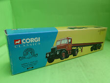 CORGI TOYS 16401 SCAMMELL HIGHWAYMAN TRUCK TRAILER - EXCELLENT CONDITION IN BOX-