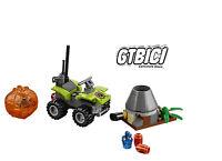 LEGO CITY  `` QUAD + VOLCAN ´´  Ref 60120   MINIFIGURAS NO INCLUIDAS