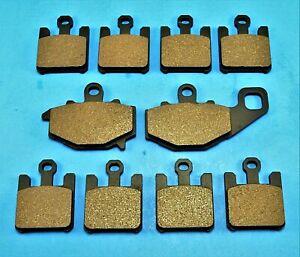 Rear Brake Pads KAWASAKI ZX10R ZX-10R NINJA ZX1000 2004 2005 2006 2007