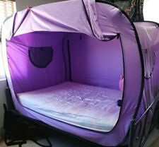 Purple Privacy pop bed tent full size