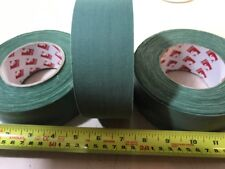 NEW Scapa UK Forces Issue GREEN Fabric Cloth Sniper Tape - 50 M long X 50mm wide