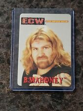 BALLS MAHONEY Rare ECW OSFTM Trading Card Sticker WWE
