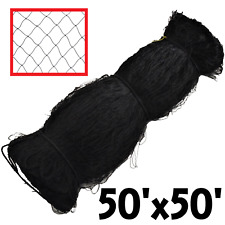 RITE FARM PRODUCTS 50x50 POULTRY BIRD AVIARY NETTING GAME PEN NET GARDEN CHICKEN